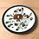 Thumbnail: Assiettes à desserts  BOCH Argenteuil/set de 6 assiettes - S297