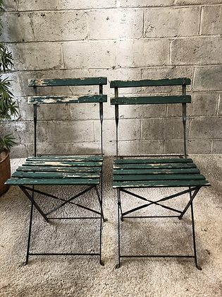Paire de chaises pliantes de jardin - 646