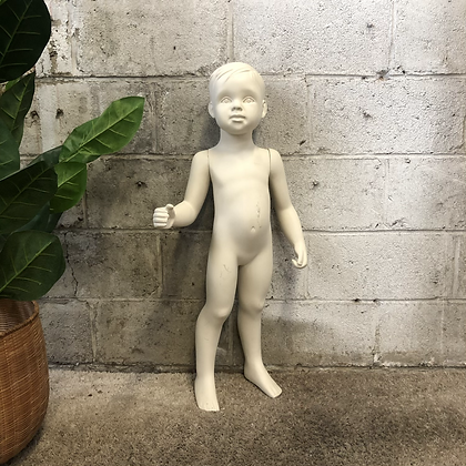 Mannequin vitrine enfant - C57