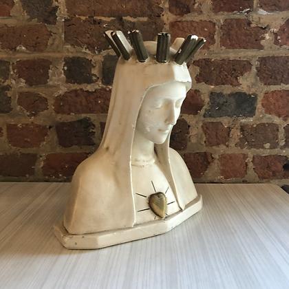 Buste en platre religieux - S897