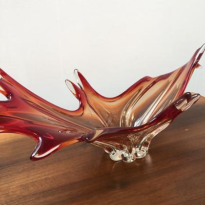 Vase en verre soufflé Italie - S083