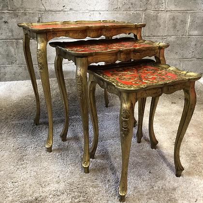 Table gigogne style florentin - 661