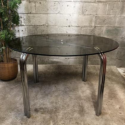 Table en verre fumé - 602