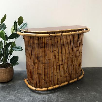 Bar en bambou et Formica - C228