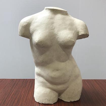 Buste feminin en plâtre - S173