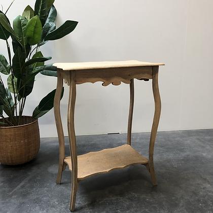 Table d'appoint en bois aérogommé - S362