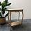 Thumbnail: Table d'appoint en bois aérogommé - S362