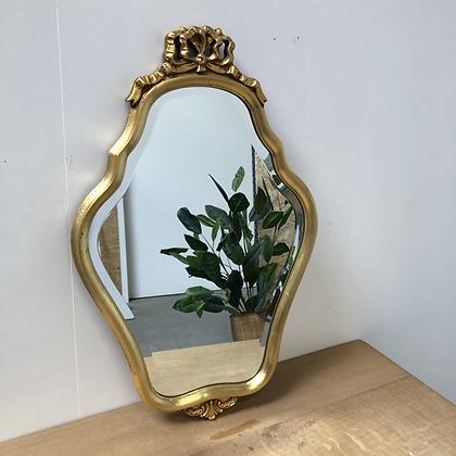 Miroir en bois doré - S426