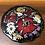 Thumbnail: Plat en céramique fleuri - C187