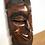 Thumbnail: Masque africain en bois de rose - C242