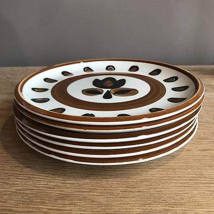 Assiettes plates BOCH Kimono/set de 6 pièces - S284