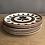 Thumbnail: Assiettes plates BOCH Kimono/set de 6 pièces - S284
