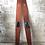 Thumbnail: Paire de skis nautique en bois - 782