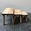 Thumbnail: Tables gigognes en bois aérogommé - C427