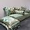 Thumbnail: Salon de style marocain en velours - S279