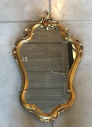 Miroir doré baroque - 81