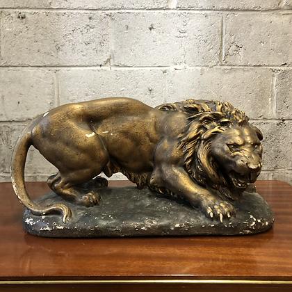 Lion en plâtre - 596