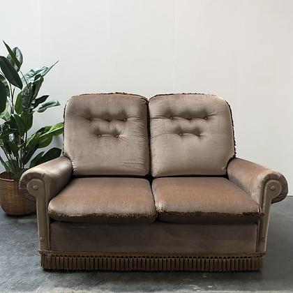 Canapé vintage en velours - C246