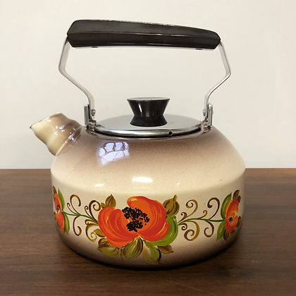 Bouilloire émaillée vintage  - C153