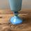 Thumbnail: Coupe en opaline bleue - S184