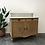 Thumbnail: Meuble coiffeuse bois/marbre - C335