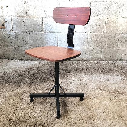 Chaise de bureau style industriel - 786