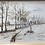 Thumbnail: Dessin  paysage de Noville les Bois - S176