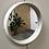 Thumbnail: Miroir rond blanc - C203