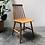 Thumbnail: Chaise en bois style scandinave - S335