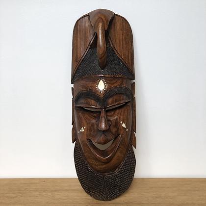 Masque africain en bois de rose - C242