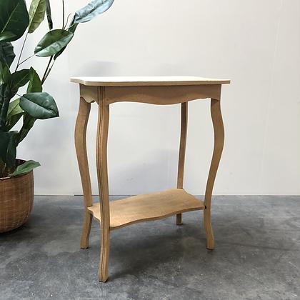 Table d'appoint en bois aérogommé - S387