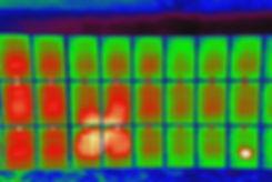 赤外線画面