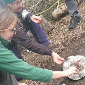 Building a Campfire in the Heart of London