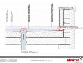 Dach- und Notentwässerung: Leistungsgrenze in Planung und Bauüberwachung