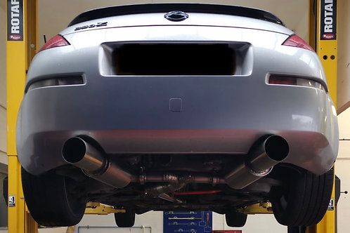 Kudaka Performance 350Z Dual Exit Exhaust System
