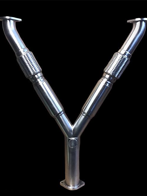 Kudaka Performance 370Z Resonated Y Pipe