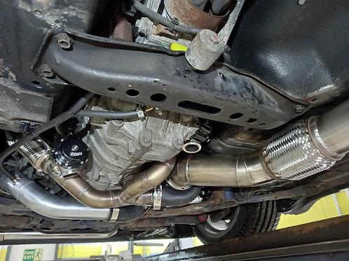 Kudaka Performance Right Hand Drive 350Z DE Mid Mount Single Turbo Kit