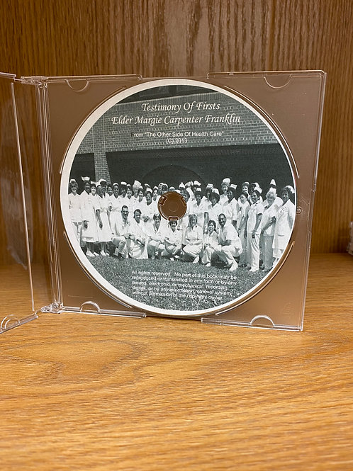 Testimony Of Firsts (Audio Book CD)
