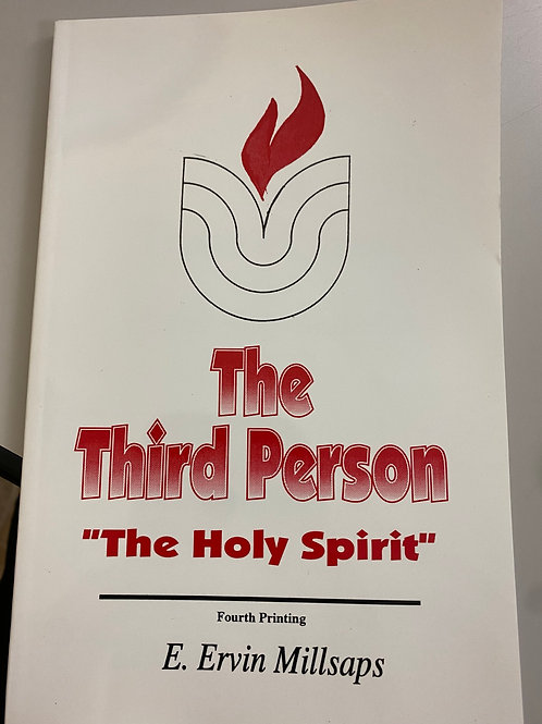 """The Third Person""""The Holy Spirit"""