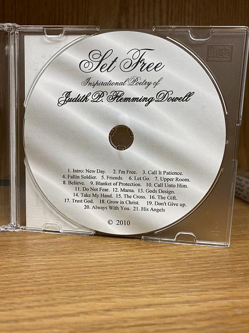 Set Free (Poetry CD)