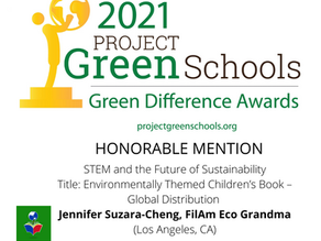 We made it to the 2021 Green Difference Awards!