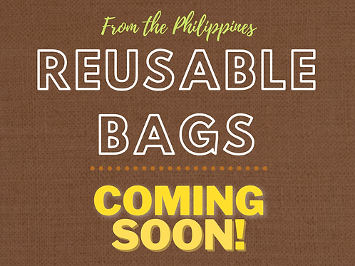 Reusable bags from the Philippines