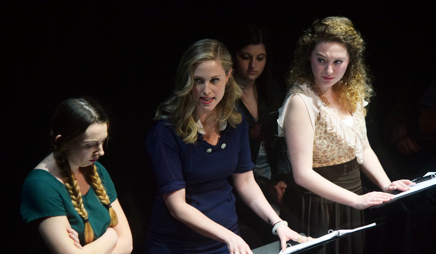 New Jersey Staged Reading, Centenary Stage  April 2017