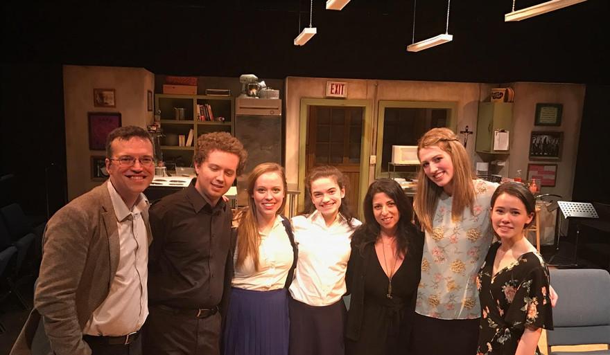 Houston Staged Reading,  Wordsmyth Theatre April 2017
