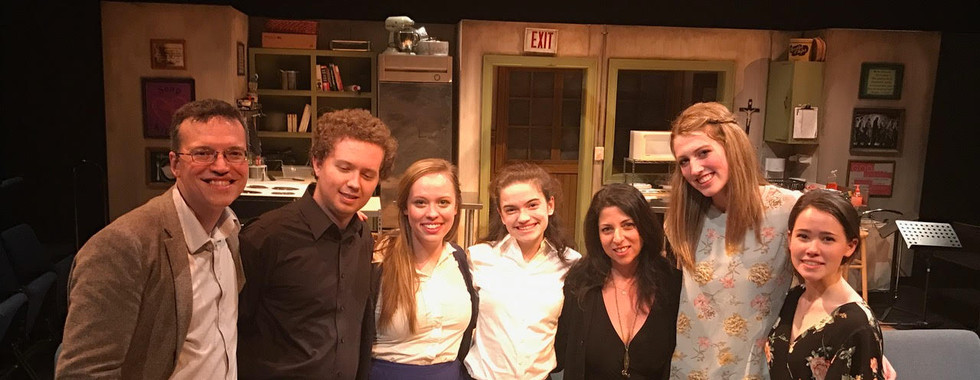 Houston Staged Reading,  Wordsmyth Theatre April 2017