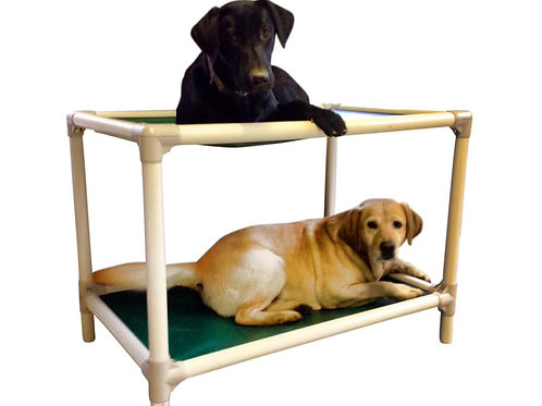 PVC Dog Bunk Bed (Almond)
