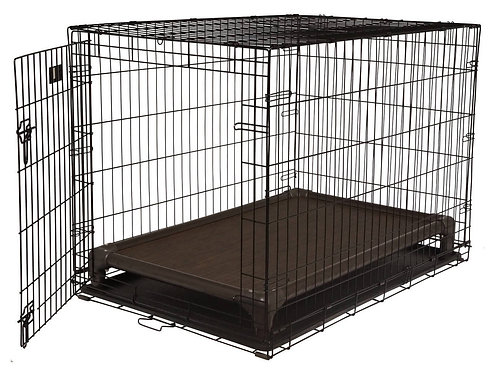Walnut Indoor Crate Bed