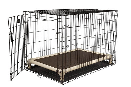 Almond Indoor/Outdoor Crate Bed