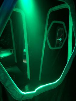 intérieur de la base