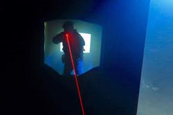 Tir laser d'un blaster